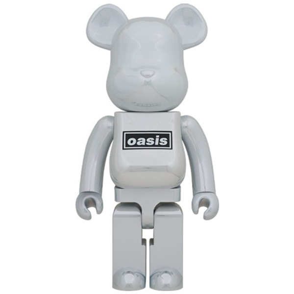 BE@RBRICK Oasis White Chrome 1000%