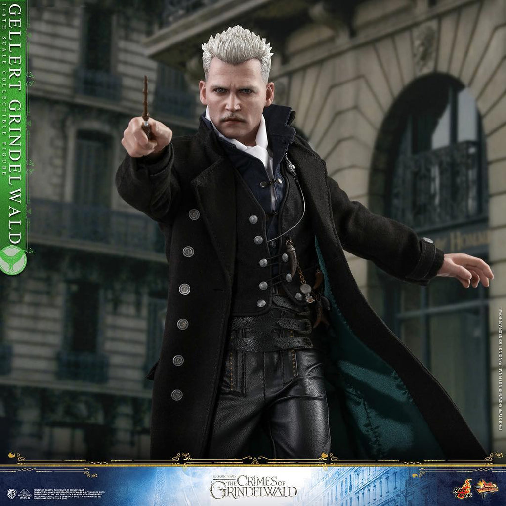 MMS513B – Fantastic Beasts: The Crimes of Grindelwald – 1/6th scale Gellert Grindelwald (Special Edition) - ActionCity