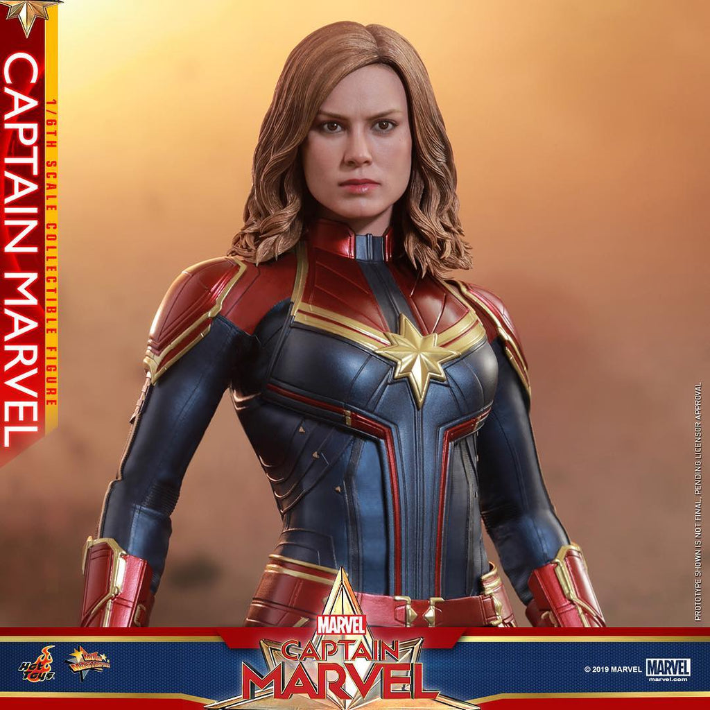 ActionCity Live: MMS521 - 1/6th Scale Captain Marvel - ActionCity