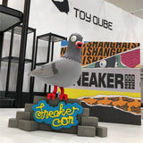 Flock with Us! New Pigeon (RED) by Jeff Staple x SneakerCon x ToyQube - ActionCity