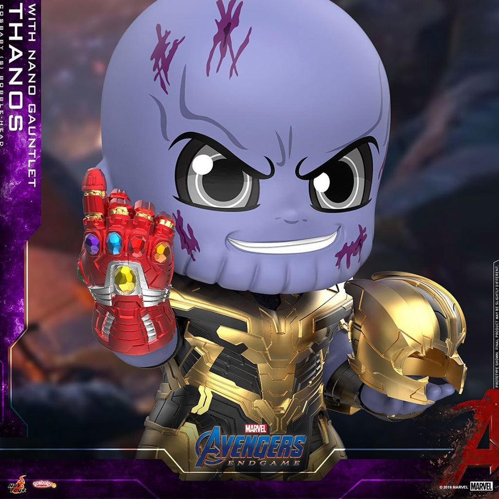 COSB644 – Thanos with Nano Gauntlet Cosbaby (S) - ActionCity