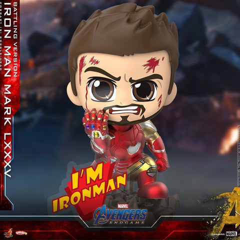 COSB651 – Iron Man Mark LXXXV (Battling Version) Cosbaby (S)