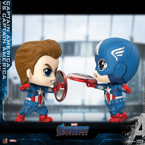 COSB658 – Captain America VS Captain America Cosbaby (S) Collectible Set