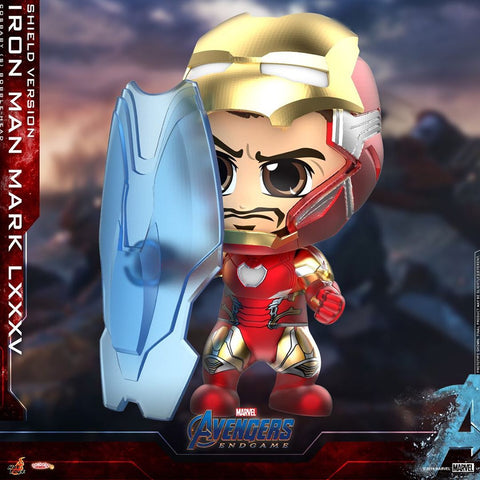 COSB649 – Iron Man Mark LXXXV (Shield Version) Cosbaby (S) - ActionCity