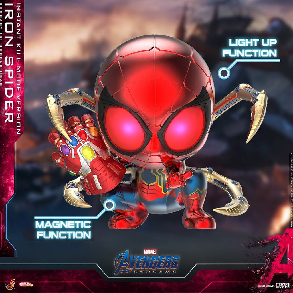 COSB654 – Iron Spider (Instant Kill Mode Version) Cosbaby (S) - ActionCity