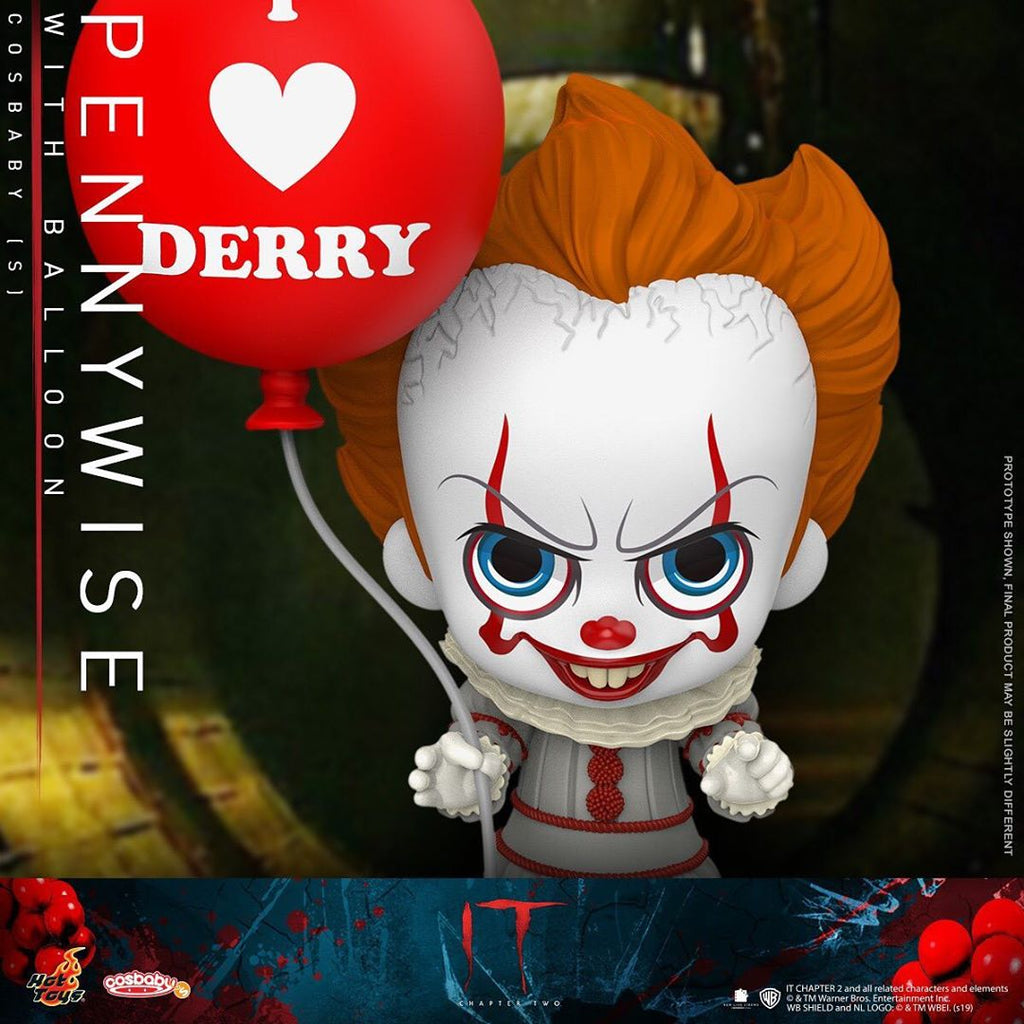 COSB684 - Pennywise with Balloon Cosbaby (S) - ActionCity