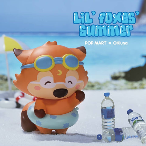 Pop Mart Lil' Foxes Summer Series - Case of 12 Blind Boxes