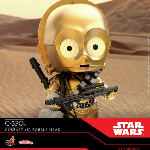 COSB690 - C-3PO Bobble-Head Cosbaby (S) - ActionCity