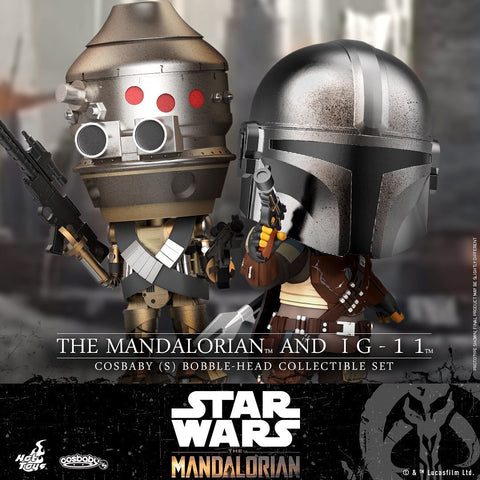 COSB691 - The Mandalorian and IG-11 Cosbaby (S) - ActionCity