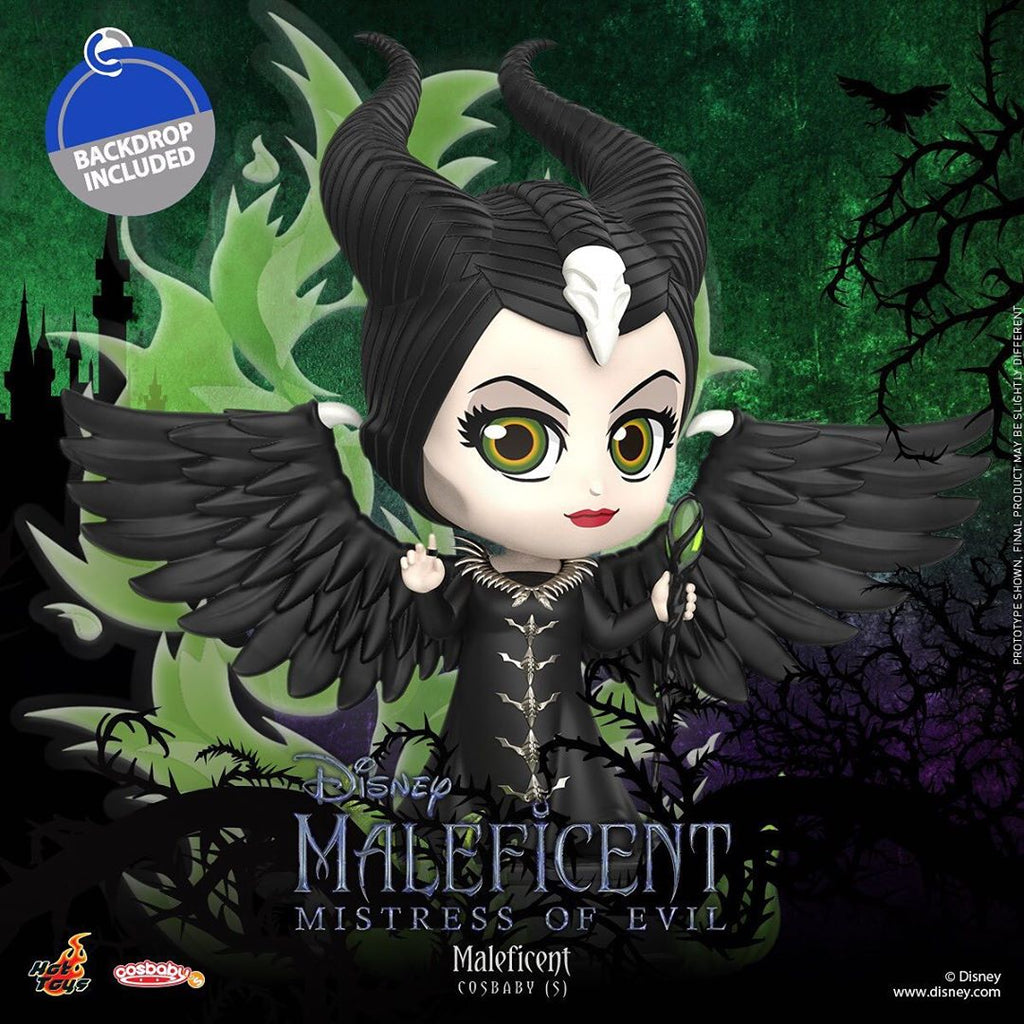 COSB696 - Maleficent Cosbaby (S) - ActionCity