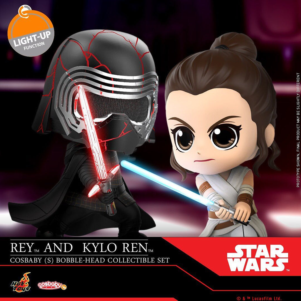 COSB688 - Rey and Kylo Ren Cosbaby (S) - ActionCity