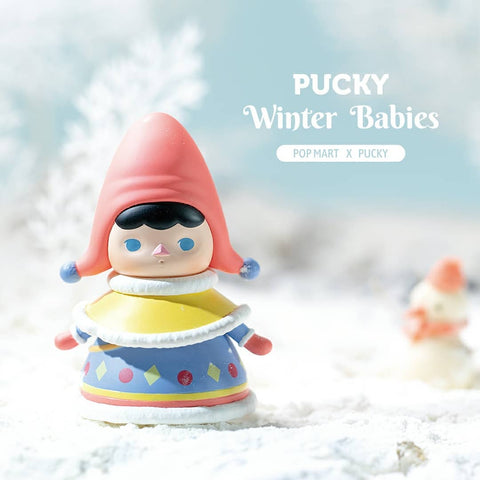 ActionCity Live: Pop Mart Pucky Winter Babies Series - Individual Blind Boxes - ActionCity