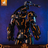 ActionCity Live: MMS553D35 + MMSC013 Bundle - 1/6th Scale Neon Tech War Machine + Neon Tech War Machine Miniature Collectible - ActionCity
