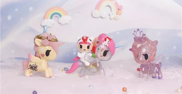 ActionCity Live: tokidoki Unicorno Series 8 - Case of 12 Blind Boxes - ActionCity