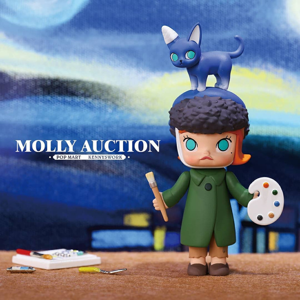Pop Mart Molly Auction Series - Case of 12 Blind Boxes - ActionCity