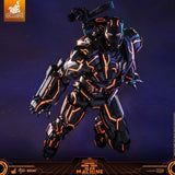 ActionCity Live: MMS553D35 + COSB697 Bundle - 1/6th Scale Neon Tech War Machine + Neon Tech War Machine Cosbaby - ActionCity