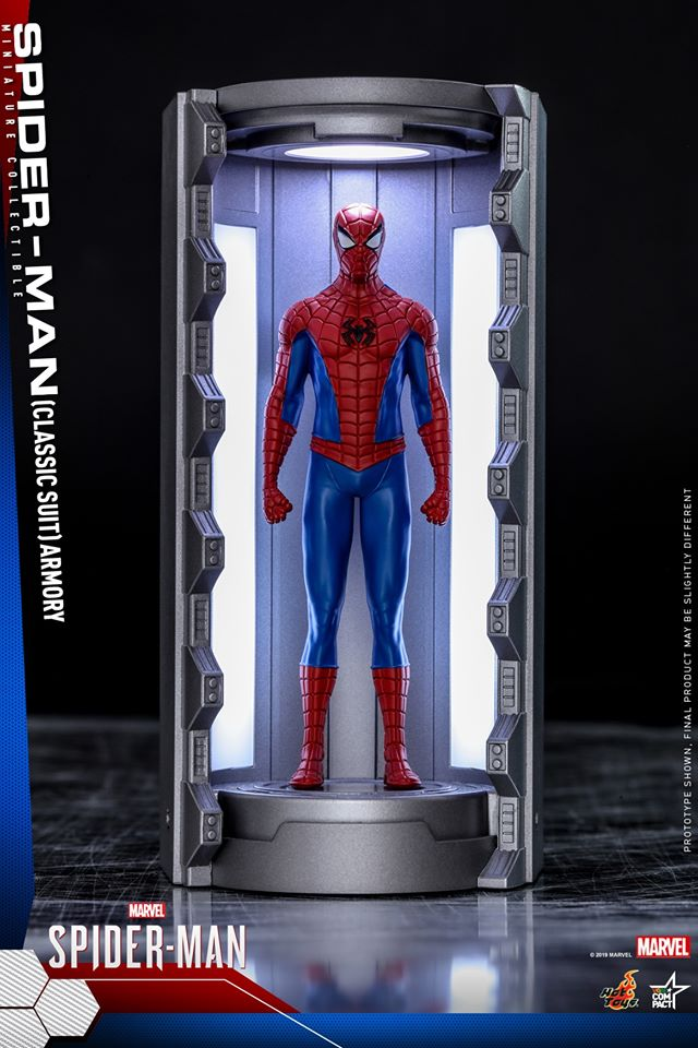 VGMC003 - Classic Suit - Spider-Man Armory Miniature Collectible - ActionCity