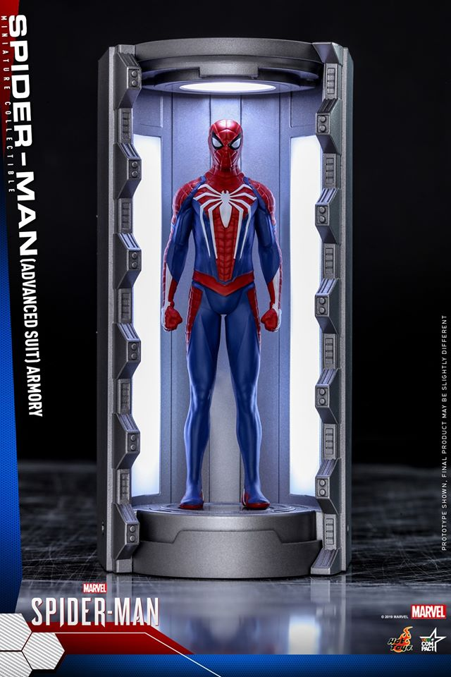 VGMC002 - Advanced Suit - Spider-Man Armory Miniature Collectible - ActionCity