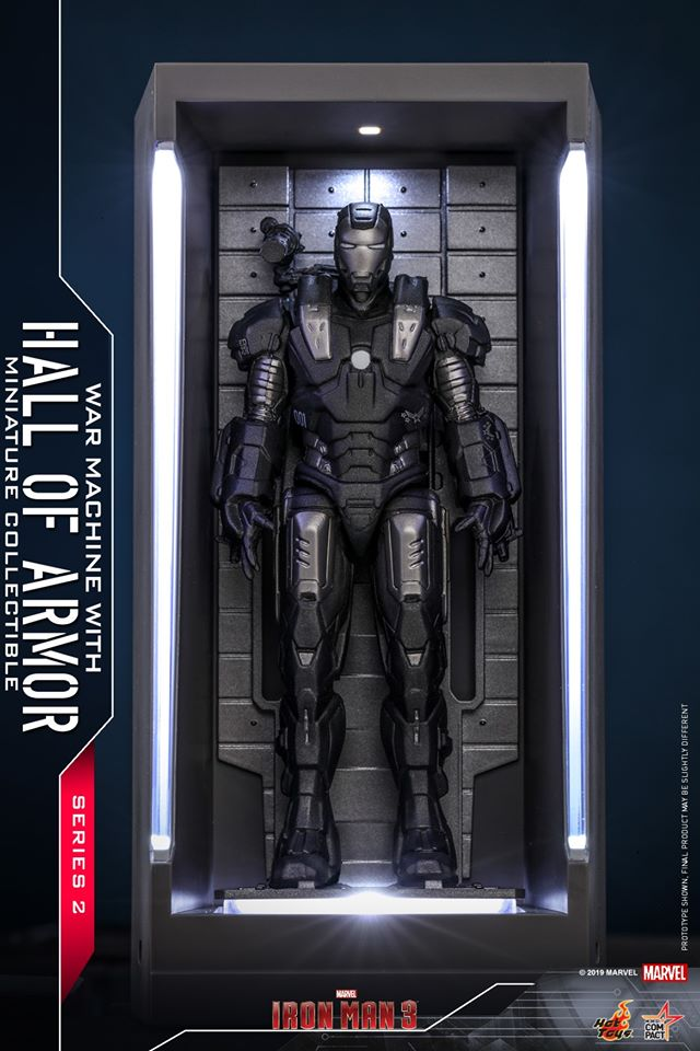 MMSC019 - War Machine With Hall Of Armor Miniature Collectible - ActionCity