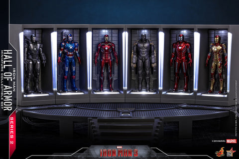 MMSC020 - Iron Man Hall Of Armor Miniature Set (Series 2) - ActionCity