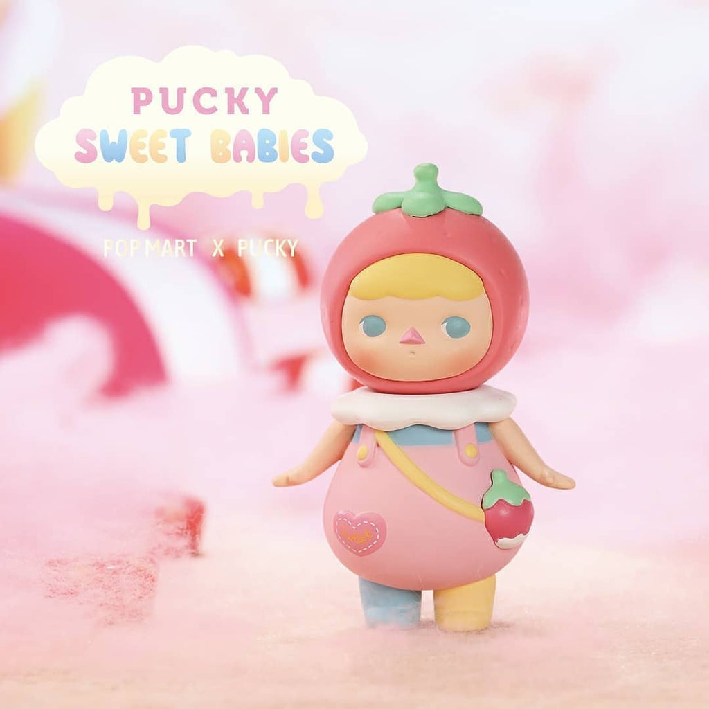 Pop Mart Pucky Sweet Babies Series - Case of 12 Blind Boxes - ActionCity