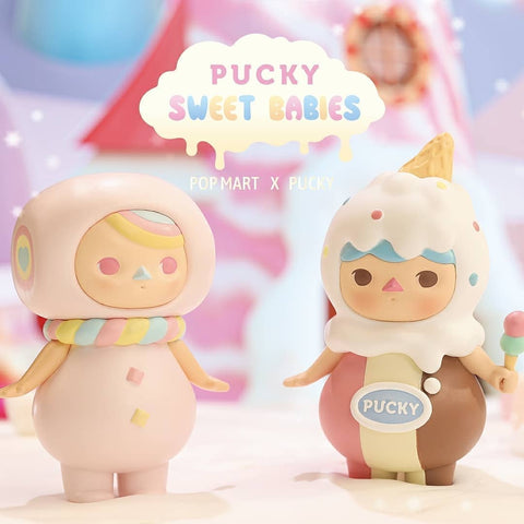 ActionCity Live: Pop Mart Pucky Sweet Babies Series - Case of 12 Blind Boxes - ActionCity