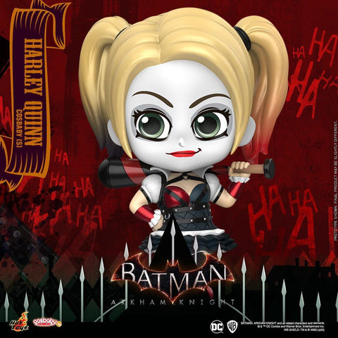 COSB674 - Batman: Arkham Knight Harley Quinn Cosbaby (S) - ActionCity