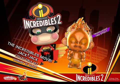 COSB481 - Incredibles 2 - Cosbaby (S) Series - The Incredibles Movbi & Jack-Jack Cosbaby (S) Collectible Set - ActionCity