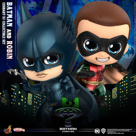 COSB719 - Batman Forever: Batman And Robin Cosbaby (S) Collectible Set - ActionCity