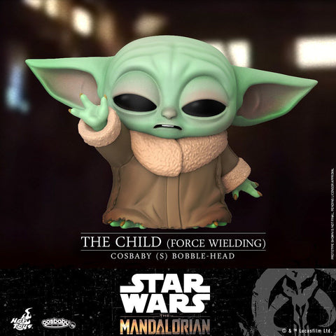 COSB744 - The Child (Force Wielding) Bobble Head Cosbaby (S) - ActionCity