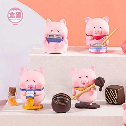 ActionCity Live: Naughty Coco Pig - Case of 8 Blind Boxes - ActionCity
