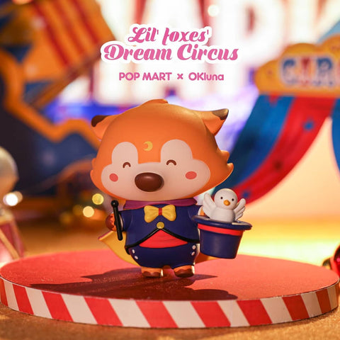 Pop Mart Lil Foxes Dream Cirucs - Case of 12 Blind Boxes - ActionCity