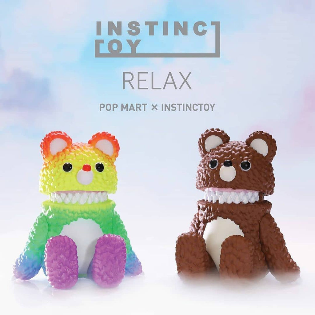 Pop Mart Instinctoy Relax Series - Case of 12 Blind Boxes - ActionCity