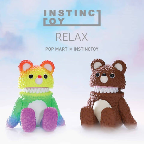 ActionCity Night Live: Pop Mart Instinctoy Relax Series - 1 Blind Box - ActionCity