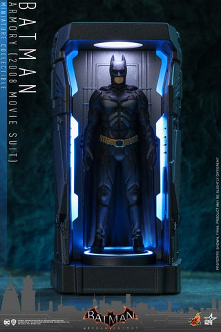VGMC012 - Batman (2008 Movie Suit) - Batman Armory Miniature Collectible - ActionCity