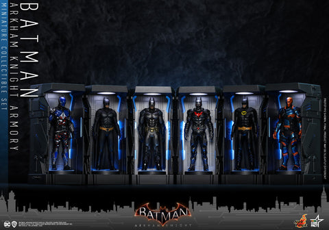 VGMC015 - Batman: Arkham Knight - Batman Armory Miniature Collectible Set - ActionCity