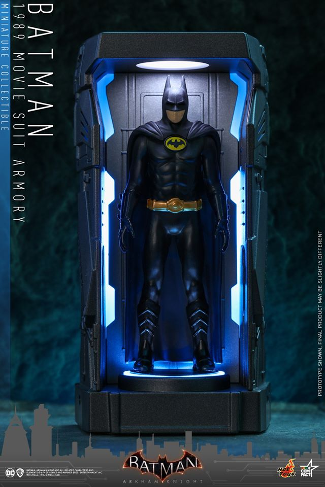 VGMC011 - Batman (1989 Movie Suit) - Batman Armory Miniature Collectible - ActionCity