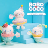 ActionCity Live: Pop Mart Bobo and Coco Sweet Series Plush - Case of 9 Blind Boxes - ActionCity