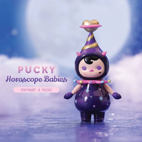 ActionCity Live: Pop Mart Pucky Horoscope Babies - Case of 12 Blind Boxes - ActionCity