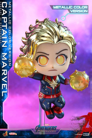 COSB591 – Captain Marvel (Metallic Color Version) Cosbaby (S) (BGM)