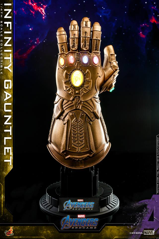 [Hot Toys] Avengers Endgame - 1/4th Scale Infinity Gauntlet Collectible  (ACS007)