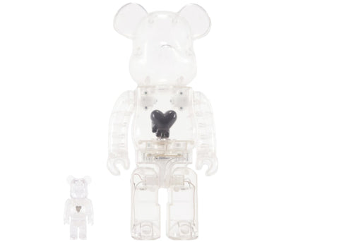 BE@RBRICK Emotionally Unavailable Black 100% & 400% - ActionCity