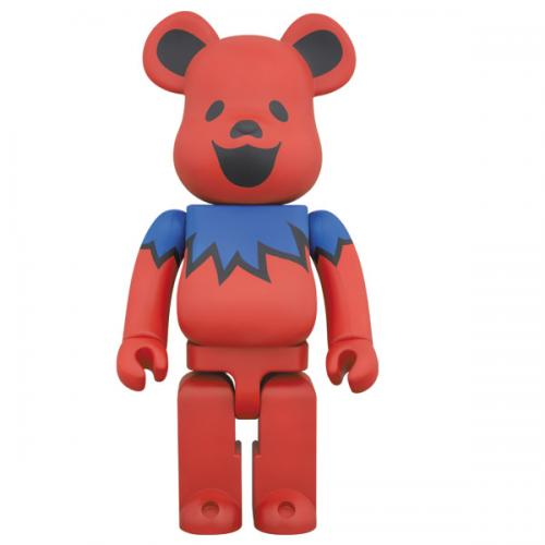 Bearbrick Dead Dancing Bear Red - Bearbrick 1000% | ActionCity Singapore