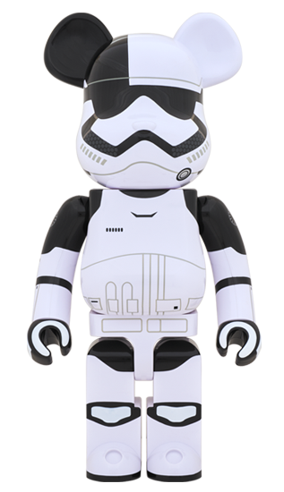 Bearbrick First Order Stormtrooper Executioner 1000% | ActionCity Singapore