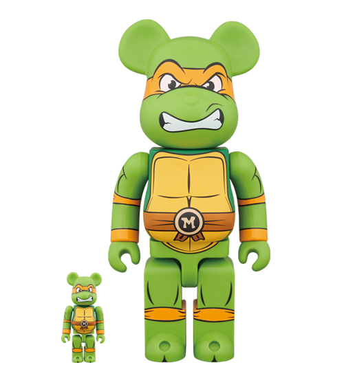 Bearbrick Michelangelo 100% & 400% - ActionCity Singapore