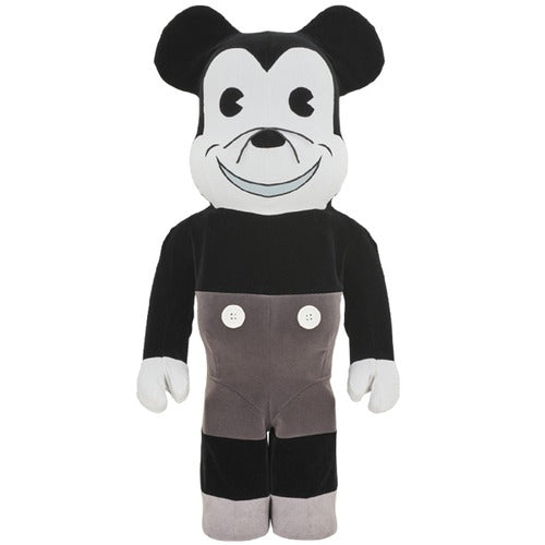 Bearbrick Mickey Mouse Vintage B&W 1000% | ActionCity Singapore