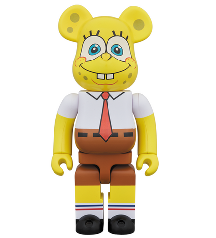 Bearbrick Spongebob - Bearbrick 1000% - ActionCity Singapore
