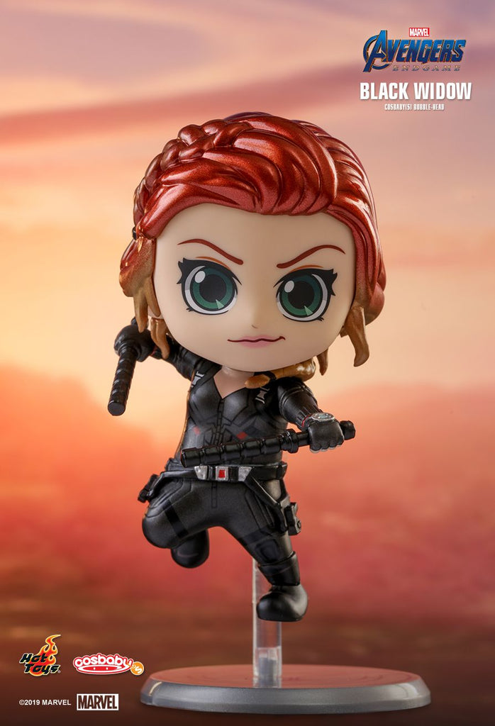 Black Widow Cosbaby (S) Bobble-Head (COSB563) Hot Toys- ActionCity Singapore