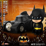 COSB710 - Batman with Batmobile Cosbaby (S) Collectible Set - ActionCity
