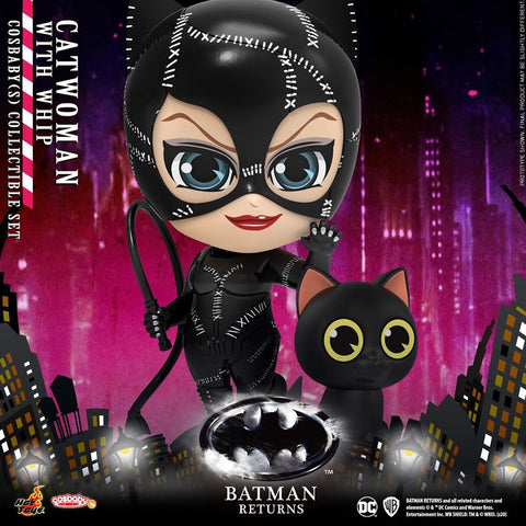 COSB716 - Catwoman with Whip Cosbaby (S) Collectible Set - ActionCity